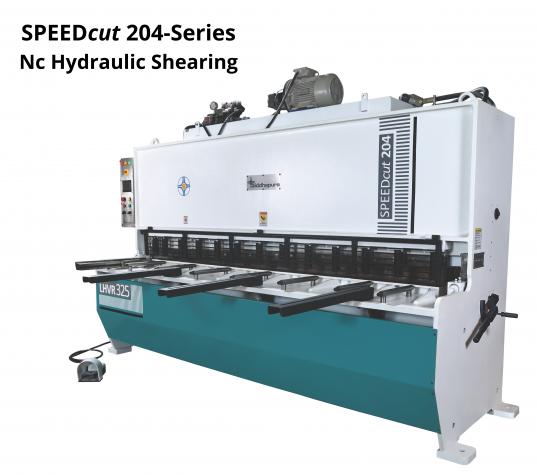 SPEEDcut 204-Series Nc Hydraulic Shearing