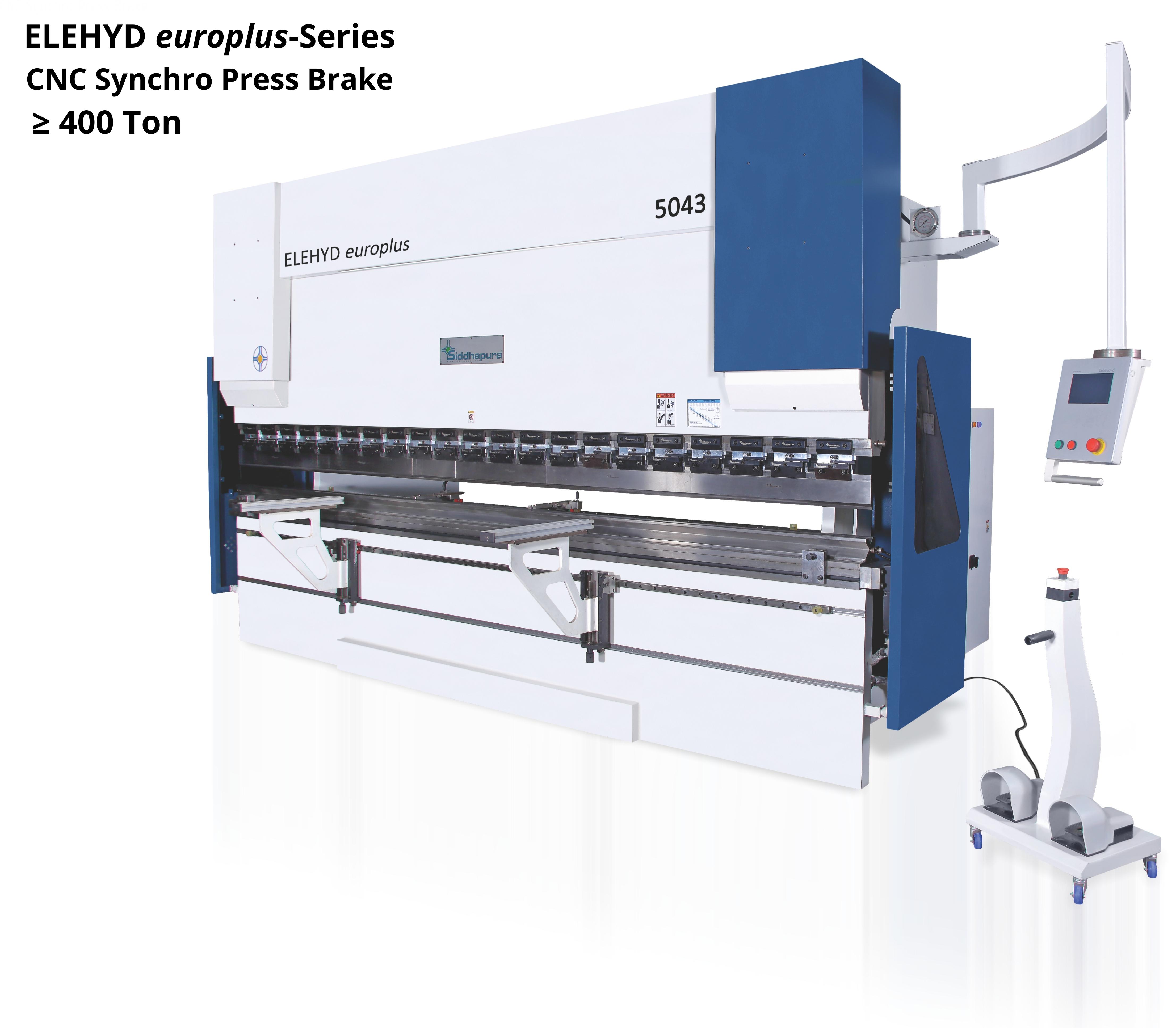 ELEHYD europlus-Series Cnc Synchro Press Brake